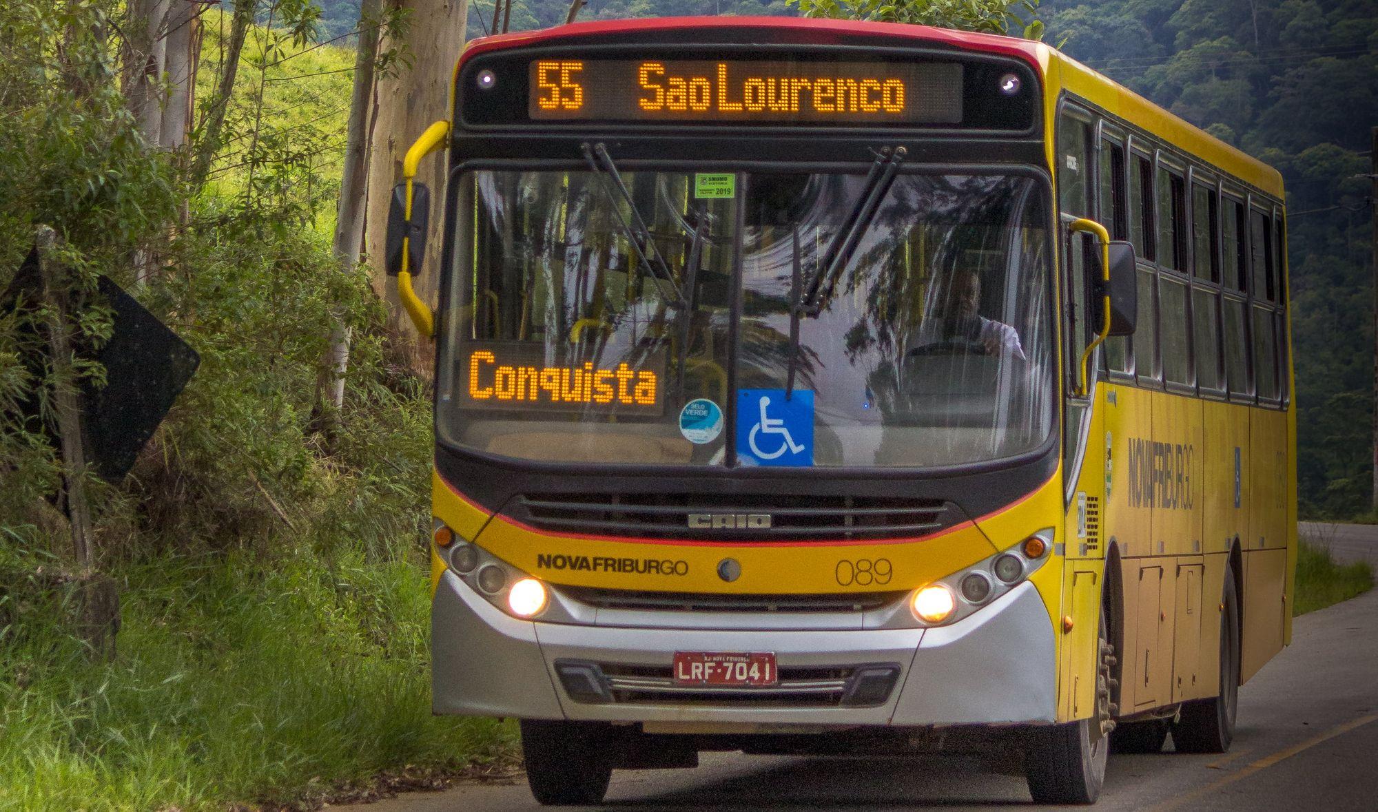 ônibus de Nova Friburgo